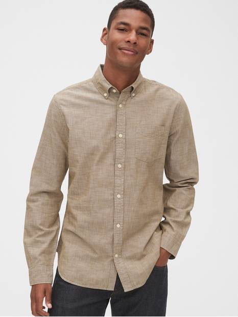 Chambray Shirt in Standard Fit