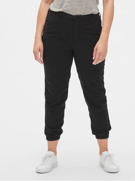 Girlfriend Chino Joggers