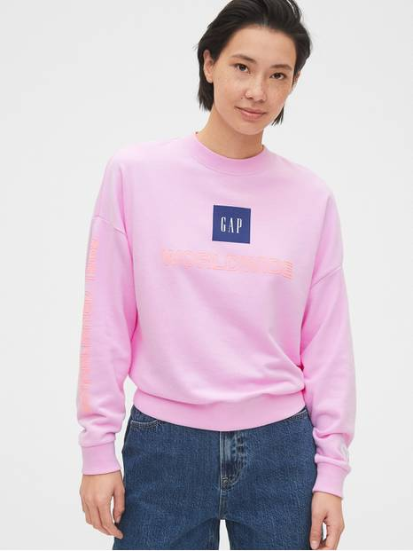 Gap Logo Frech Terry Sweatshirt