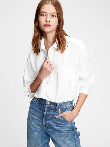 The Big Shirt in Poplin