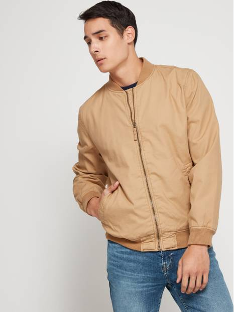 Canvas Bomber Jacket