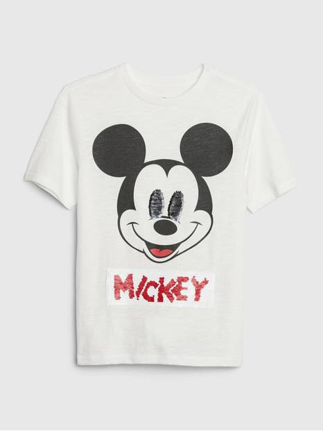 GapKids &#124 Disney Mickey Mouse Flippy Sequin T-Shirt