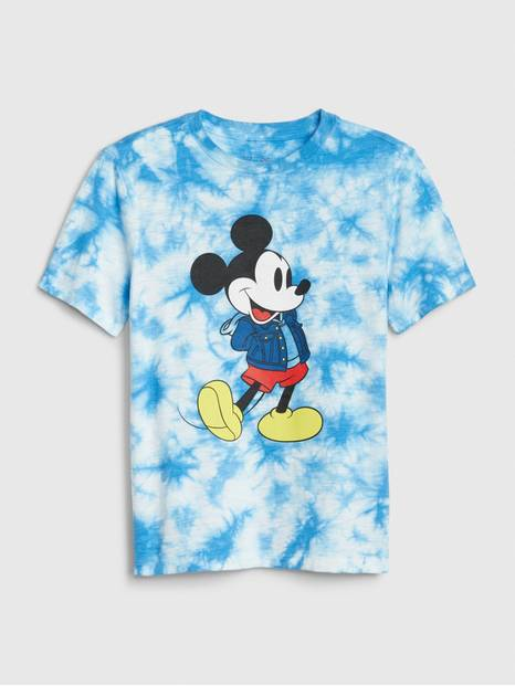 GapKids &#124 Disney Mickey Mouse Tie-Dye T-Shirt