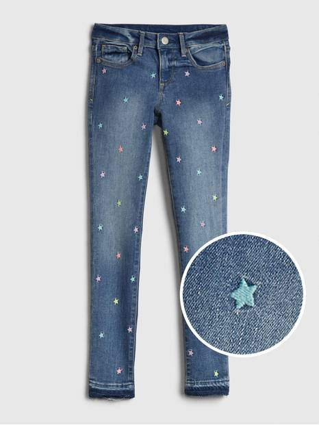 Kids Star Super Skinny Jeans with Stretch