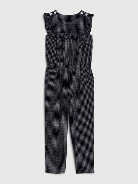 Kids Sleeveless Ruffle Jumpsuit