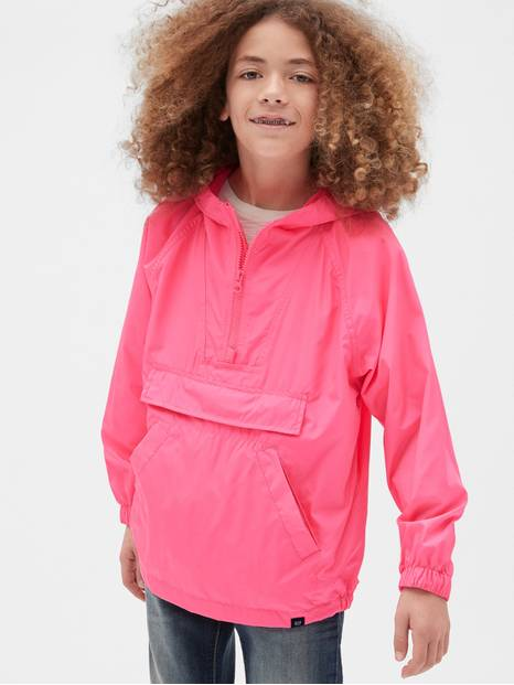 Kids Packable Anorak Jacket