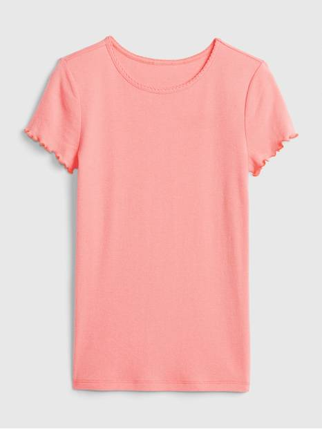 Kids Ribbed T-Shirt