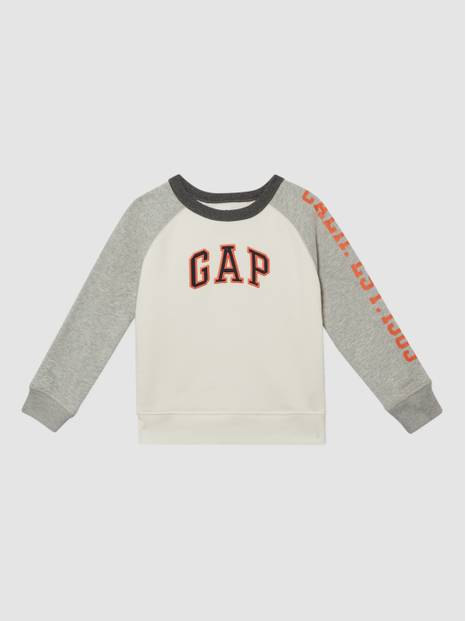 Kids Arch Logo Embroidery Sweatshirt