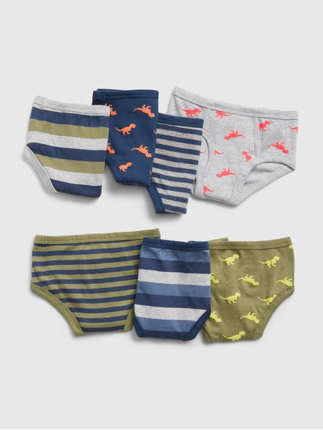 Toddler Dino Briefs (7-Pack)