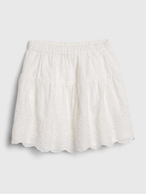 Toddler Eyelet Skirt