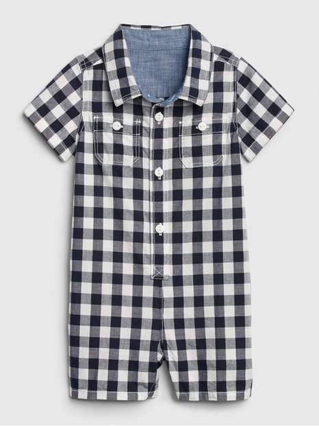 Baby Gingham Shorty One-Piece