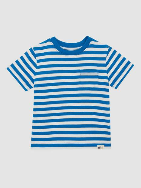 Toddler Stripe Short Sleeve T-Shirt