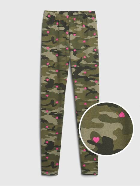 Kids Print Leggings in Stretch