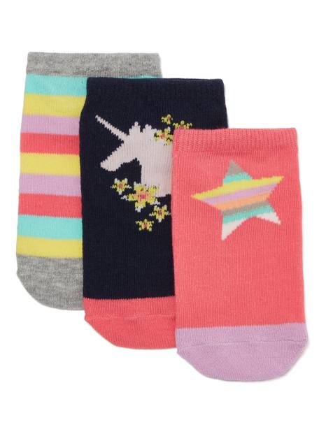 Kids Gap Unicorn Crew Socks, 3-Pack