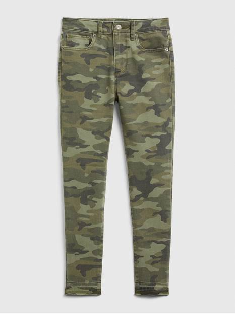 Kids High-Rise Camo Jeggings