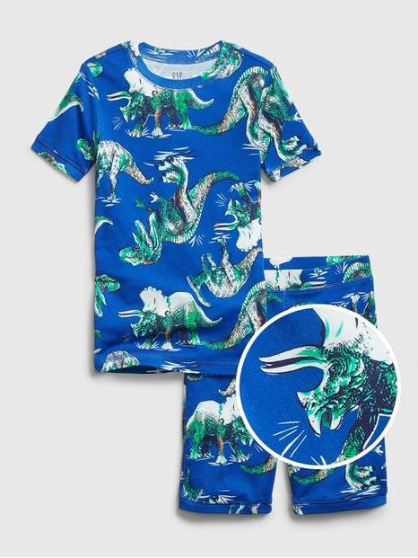 Kids Dinosaur Short PJ Set