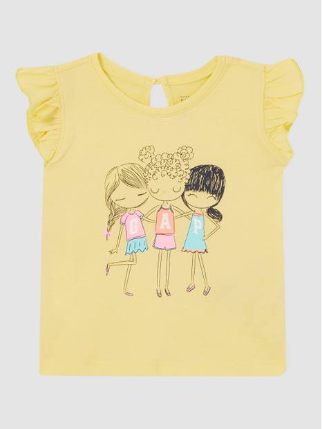Toddler Bea Gap Flutter T-Shirt