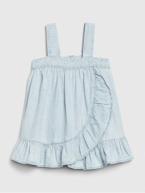 Baby Denim Ruffle Dress