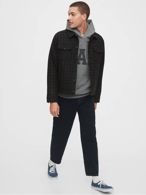 Gap Arch Logo Chenile Pullover Hoodie