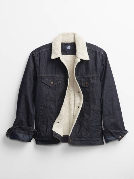 Icon Sherpa Denim Jacket