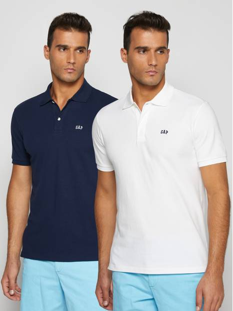 Gap Logo Polo Shirt, 2-Pack
