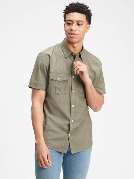 Short Sleeve Utility Shirt