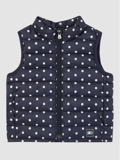 Toddler Upcycled ColdControl Puffer Vest