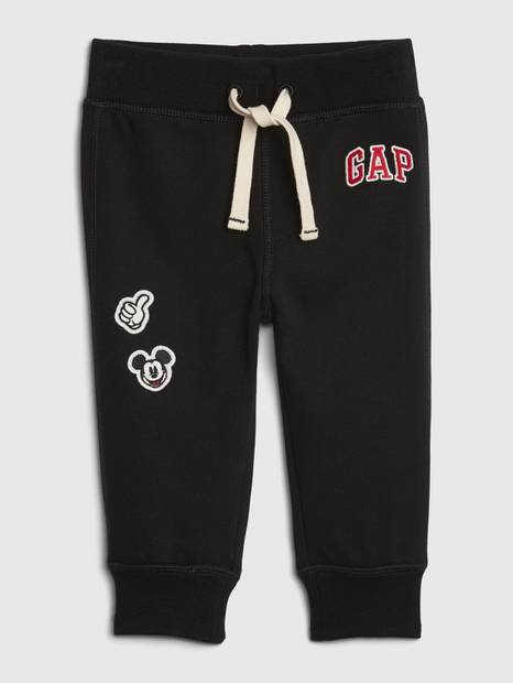 babyGap &#124 Disney Mickey Mouse Gap Logo Pull-On Pants