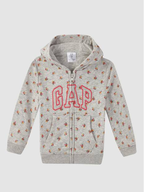 Baby Gap Logo French Terry Hoodie