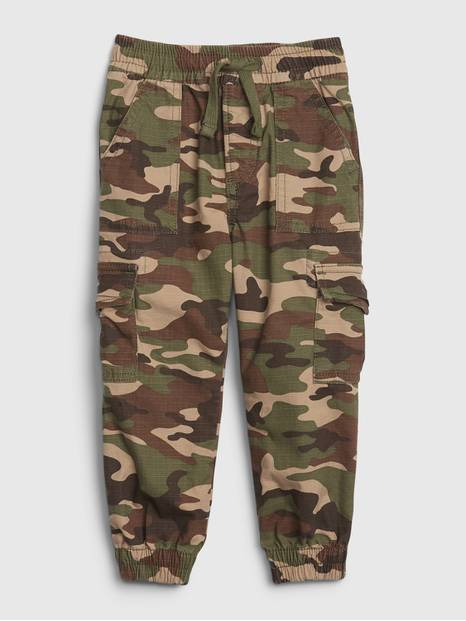 Toddler Cargo Camo Pants