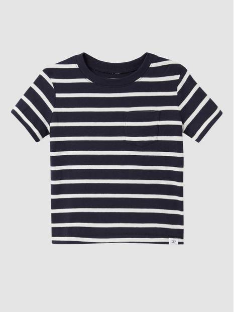 Toddler Pocket Crewneck T-Shirt