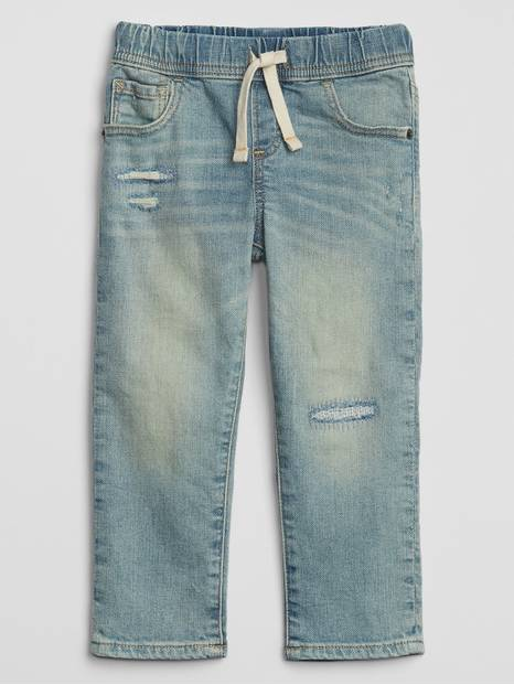 Toddler Pull-On Jeans