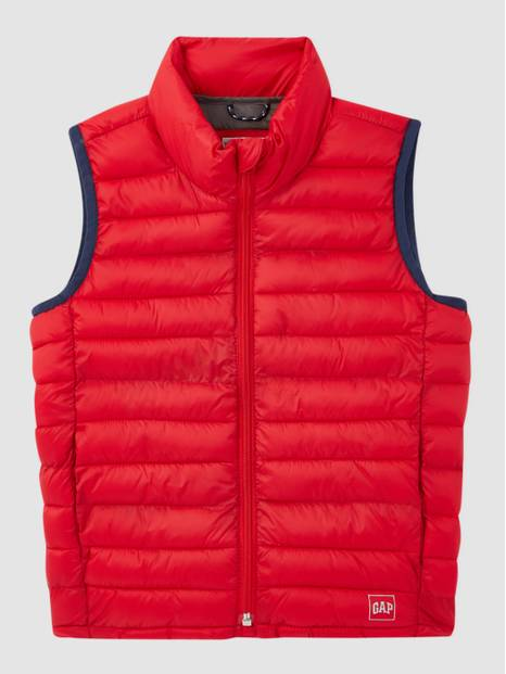 Kids Upcycled Lightweight Puffer Vest