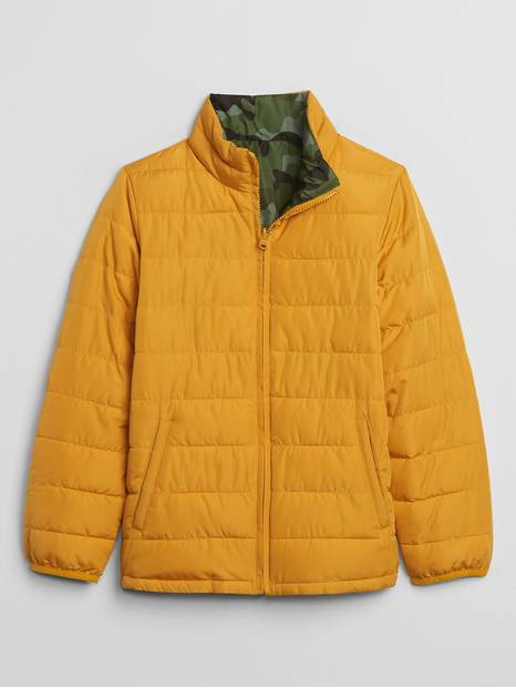Kids ColdControl Reversible Puffer