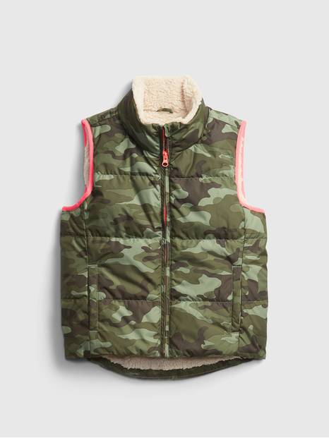 Kids ColdControl Max Down Puffer Vest