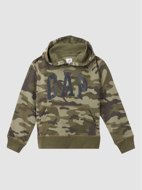 Kids Gap International Logo Pullover Hoodie