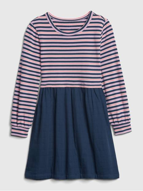 Kids Stripe Skater Dress