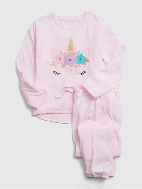 GapKids Unicorn Graphic PJ Set
