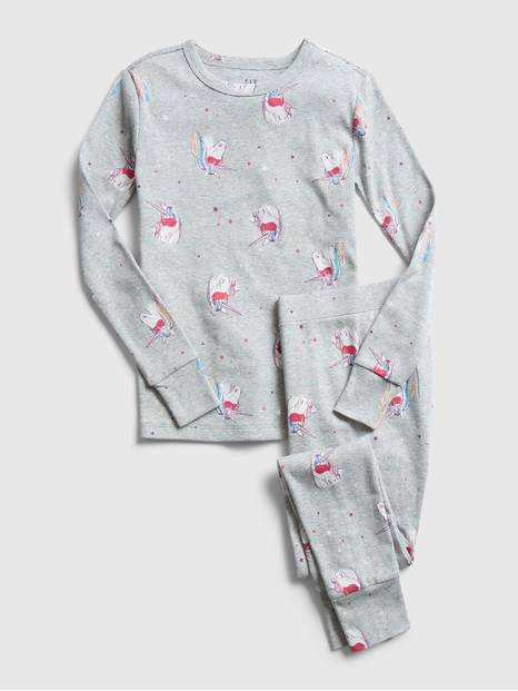 GapKids Unicorn Long Sleeve PJ Set