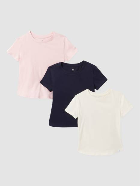 Kids Basic T-Shirt, 3-Pack