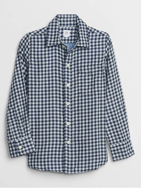 Kids Plaid Shirt
