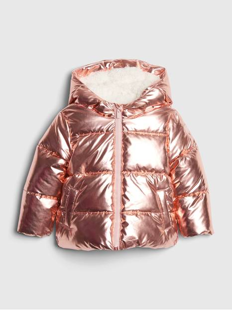 Toddler ColdControl Max Metallic Puffer Jacket