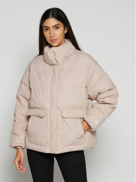Hooded Short Down Jacket