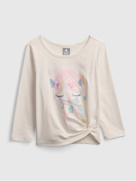 Toddler Bea Graphic Twist T-Shirt