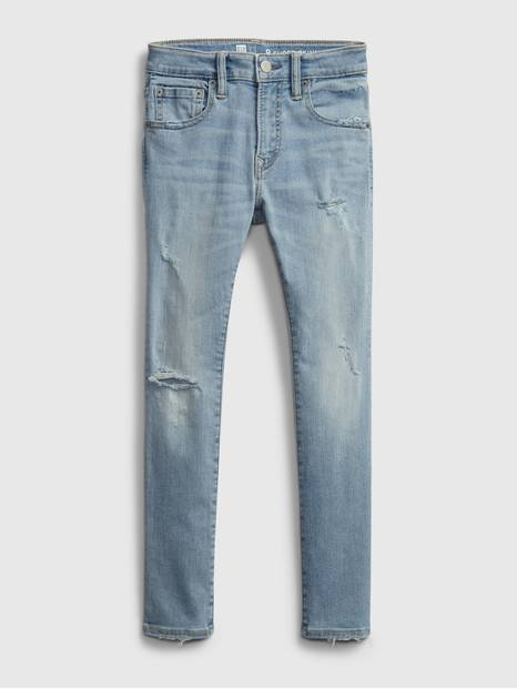 Kids Recycled Super Skinny Jeans with Stretch