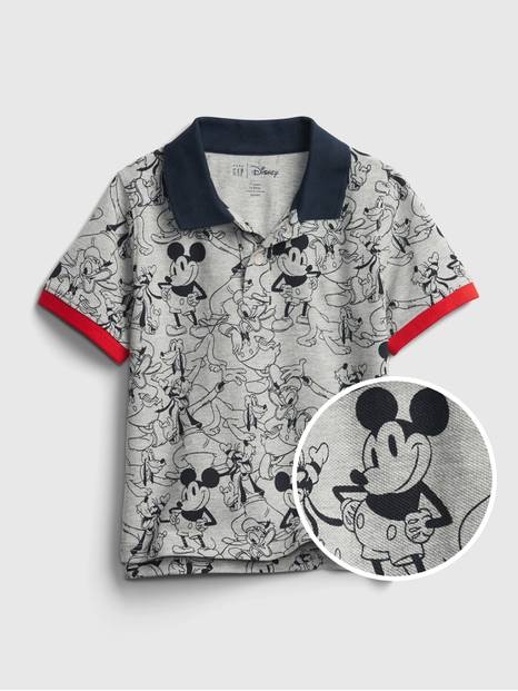 babyGap &#124 Disney Mickey Mouse Pique Polo Shirt