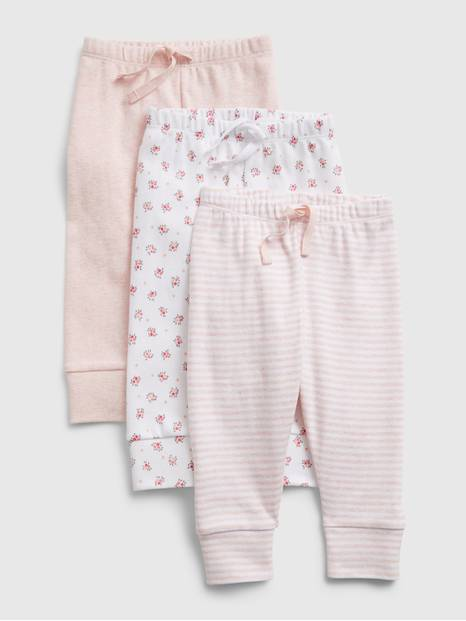 Baby First Favorite Pull-On Pants (3-Pack)