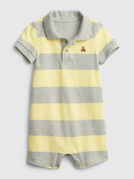 Baby Polo Shorty One-Piece