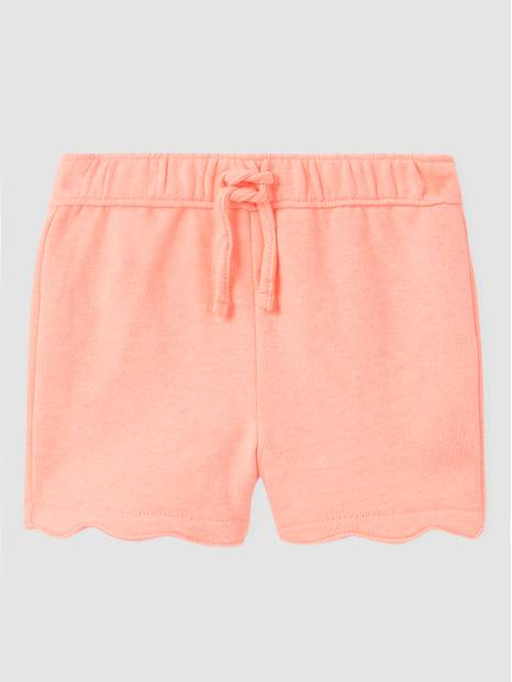 Toddler Scalloped Pull-On Shorts