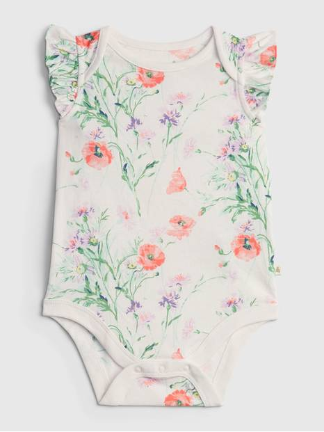 Baby Organic Cotton Mix and Match Print Bodysuit